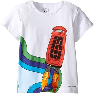 Burberry Kids - Mini Rocket Tee Boy's T Shirt $75 thestylecure.com
