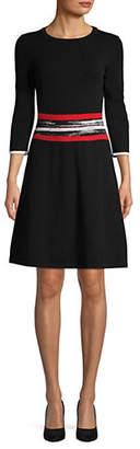 HUGO Sawnika Long-Sleeve Sweater Dress