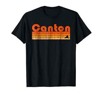 Retro 80s Style Canton NY T-Shirt