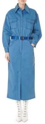 Tibi Denim Pocket Dress