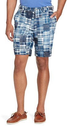 Polo Ralph Lauren Classic Fit Cotton Patchwork Shorts $125 thestylecure.com