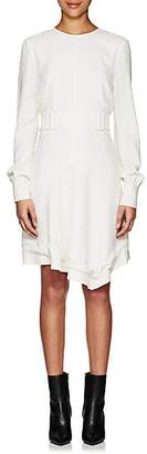 Derek Lam 10 Crosby Women's Crepe Belted Dress - Cream