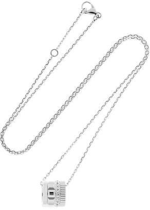 Boucheron Quatre Radiant Edition 18-karat White Gold Diamond Necklace