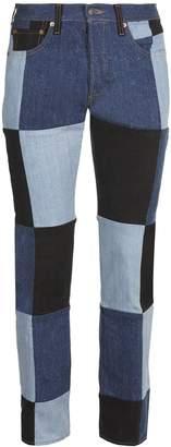 Gosha Rubchinskiy Patchwork Jeans