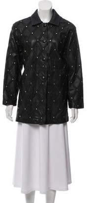 Bruno Magli Tailored Embellished Jacket