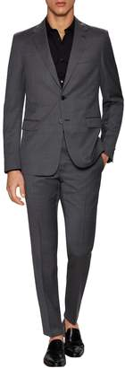 Prada Men's Sharkskin Notch Lapel Suit