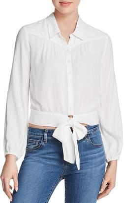 Paige Damaris Tie-Front Blouse - 100% Exclusive