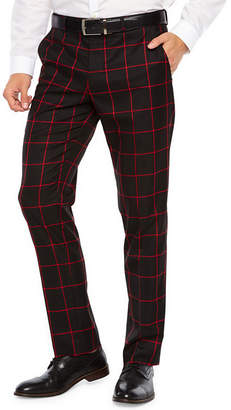 Windowpane Pants Men Shopstyle