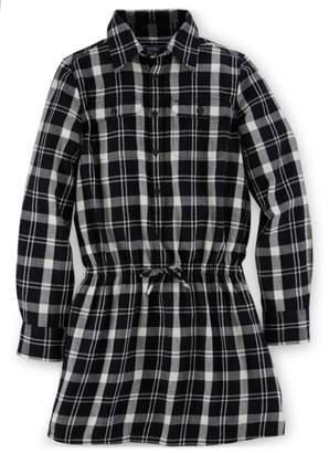 Ralph Lauren Plaid Twill Shirtdress