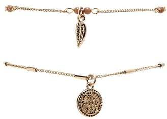 Forever 21 Elephant Charm Bracelet Set