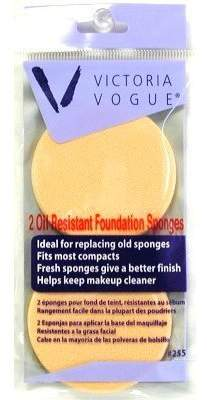 Victoria's Secret Victoria Vogue Round Sponge Oil Resistant 2S Foundation by by
