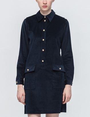 A.P.C. Agnès Dress $310 thestylecure.com