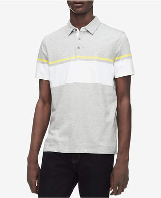 Calvin Klein Men Two-Tone Striped Polo
