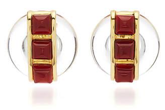 ec42f533f Aldo Vintage Cipullo Earrings With Carnelian Cabochons
