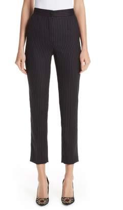 Dolce & Gabbana Pinstripe Stretch Wool Pants