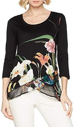 Desigual Women's Courtney 3/4 Sleeve t-Shirt