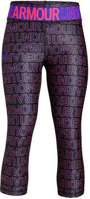 Under Armour Big Girls Printed Capri Leggings