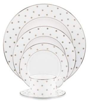 Kate Spade Larabee Road Platinum Five-Piece Place Setting