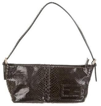 Fendi Python Shoulder Bag