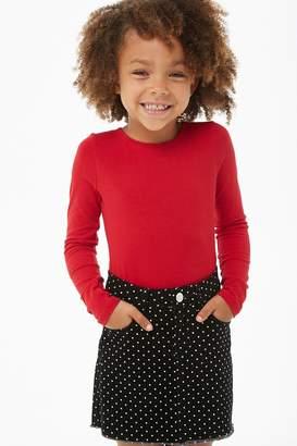 Forever 21 Girls Polka Dot Mini Skirt (Kids)