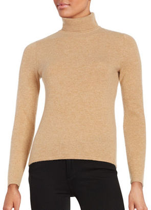 Lord & Taylor Turtleneck Cashmere Sweater $174 thestylecure.com