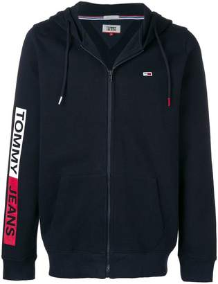 Tommy Jeans Essential Graphic zipped hoodie