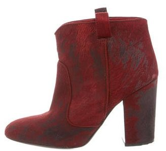 Laurence Dacade Ponyhair Ankle Boots $245 thestylecure.com