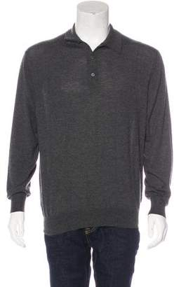 Hermes Cashmere Polo Sweater
