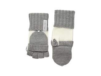 Calvin Klein Color Block Flip Top Gloves