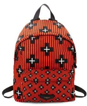 Givenchy IP Geometric Printed Back Pack
