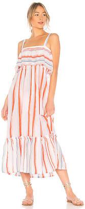 Lemlem Asha Ruffle Dress