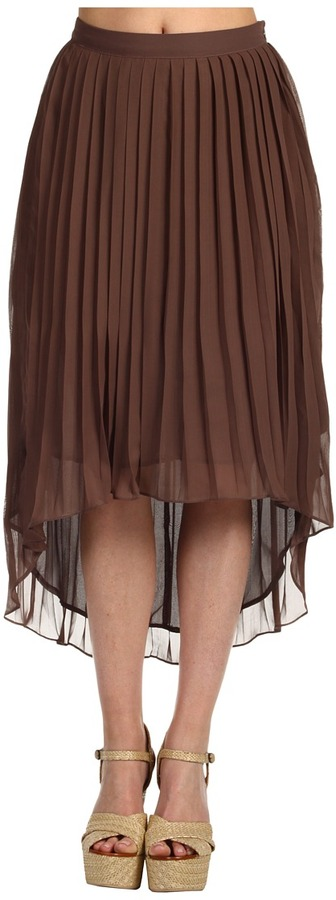 Gabriella Rocha Zoelle Skirt (Mocha) - Apparel