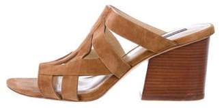 Lafayette 148 Suede Strap Sandals