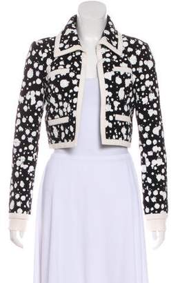 Chanel Splatter Tweed Jacket