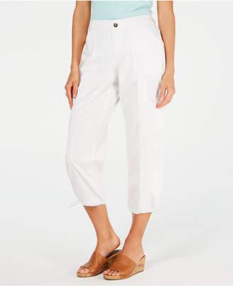 Style&Co. Style & Co Comfort-Waist Curvy-Fit Capri Pants