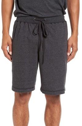 Men's Daniel Buchler Recycled Cotton Blend Lounge Shorts $52 thestylecure.com