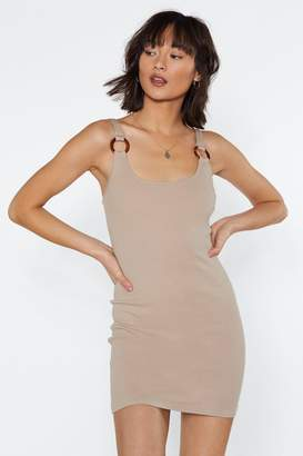 Nasty Gal With This O-Ring Dress
