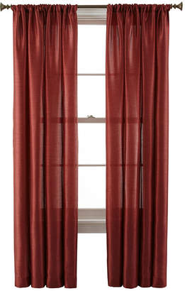 Royal Velvet Britton Rod-Pocket Curtain Panel