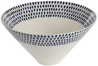 Nkuku Indigo Drop Serving Bowl - Large