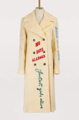 Mira Mikati Embroidered coat