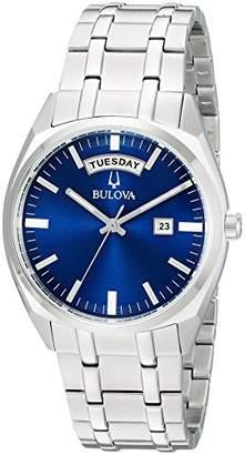 Bulova Men's 'Classic' Quartz Stainless Steel Casual Watch
