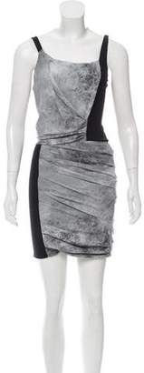 Helmut Lang Silk Mini Dress