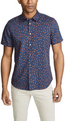 Paul Smith Small Floral Button Down Shirt