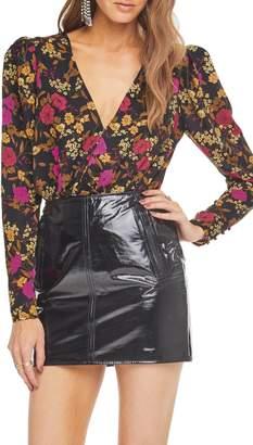 ASTR the Label Blondie Surplice Bodysuit