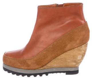 Rachel Comey Round-Toe Wedge Boots