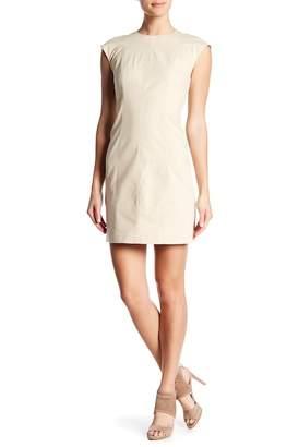 Theory Onine Stretch Canvas Dress