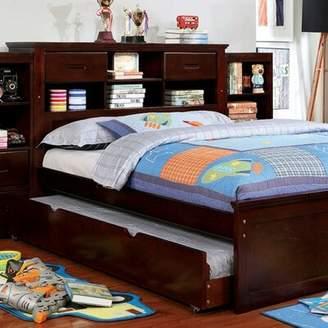 Harriet Bee Ravenna Bookcase Headboard Platform Bed Harriet Bee