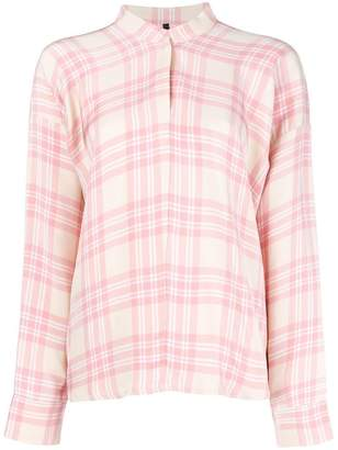 Sara Lanzi checked shirt