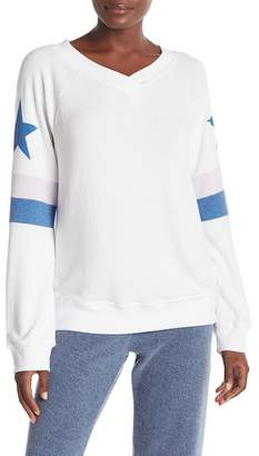Wildfox Couture Star Spangled Gidget V-Neck Pullover