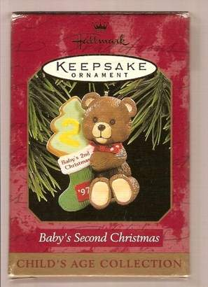Hallmark Baby's Second Christmas 1997 - Child's Age Collection